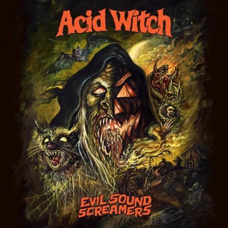 Acid Witch – Evil Sound Screamers - CD Ltd. Edition