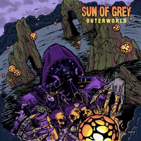 Sun Of Grey – Outerworld - LP Blue/Black