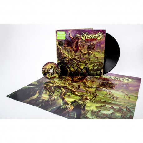 Aborted - Terrorvision - LP+CD