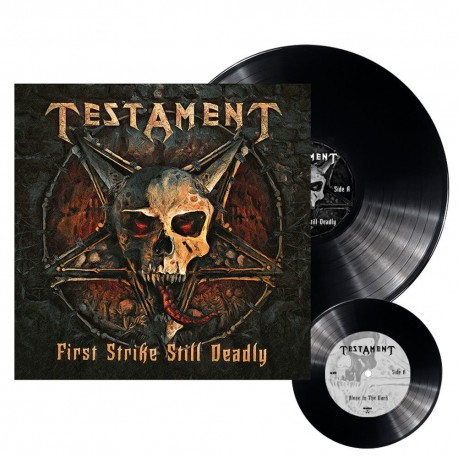 Testament - First strike still deadly  - LP + 7""