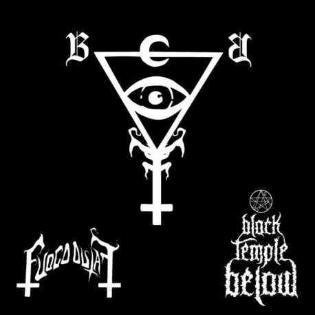 Fuoco Fatuo / Black Temple Below - Split LP