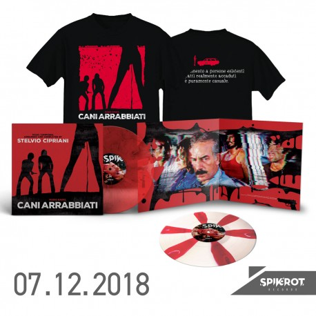 """Cani Arrabbiati"" Original Soundtrack - LP + T-Shirt Bundle"