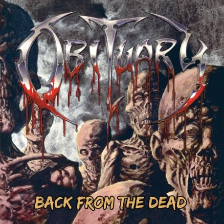 Obituary - Back From The Dead - LP Red