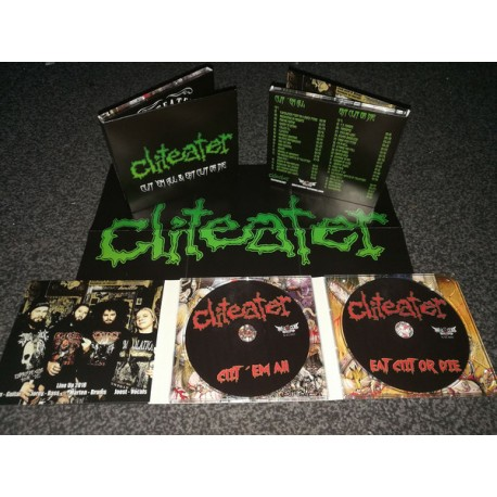 Cliteater - Clit 'Em All & Eat Clit Or Die - 2CD Digi