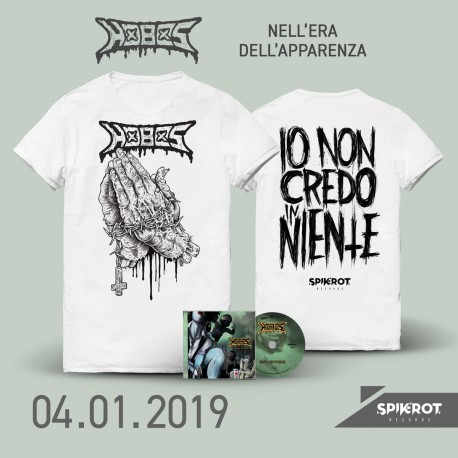 Hobos - Nell'Era Dell'Apparenza - CD + T-Shirt Bundle