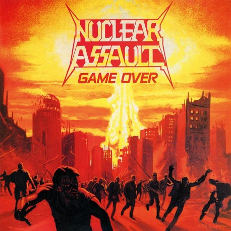 Nuclear Assault - Game Over - LP Clear/Orange Splatter