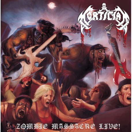 Mortician - Zombie Massacre Live! - 2LP