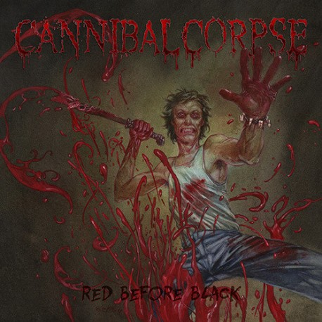 Cannibal Corpse - Red Before Black - LP Blue