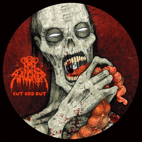 "Nunslaughter / Haemorrhage - Split - 7"" Picture Disc"