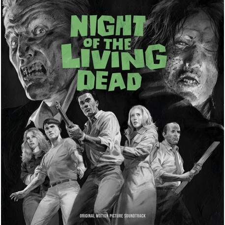Night Of The Living Dead - Soundtrack 2LP