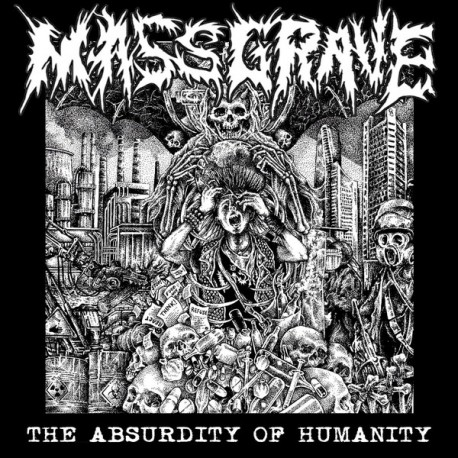 Massgrave - The Absurdity Of Humanity - CD