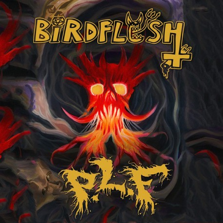 Birdflesh / PLF - Split CD