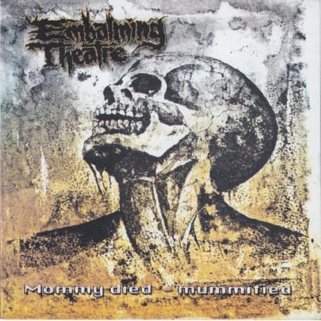 "Embalming Theatre / Tersanjung13 – Mommy Died - Mummified / Hellnoise - Split 7"""