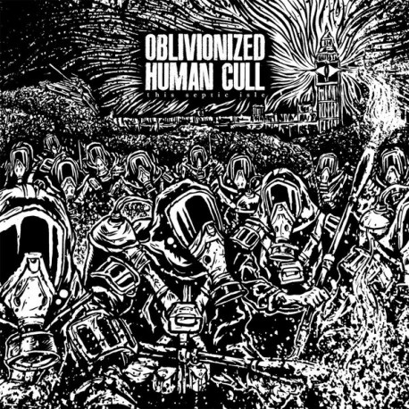 Oblivionized / Human Cull ‎– This Septic Isle - Split 7""