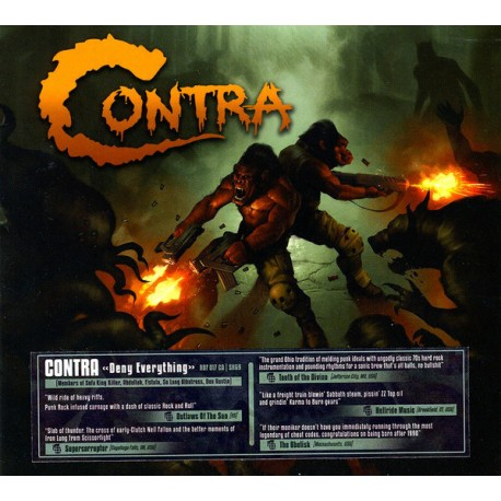 Contra – Deny Everything - CD Digi