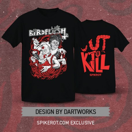"Birdflesh - ""Gut To Kill"" T-Shirt - Spikerot.com Exclusive"