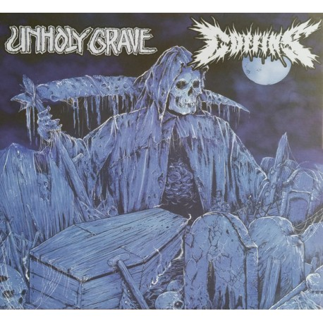 Unholy Grave / Coffins ‎– Split - CD Digi