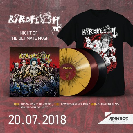 Birdflesh - Night Of The Ultimate Mosh - LP + T-Shirt BUNDLE
