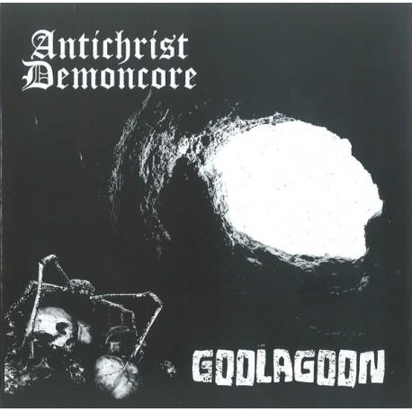 "ACxDC / Goolagoon – Antichrist Demoncore / Goolagoon - Split 7"""