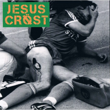 Jesus Cröst ‎– Fuck Powerviolence...This Is Groovy Gore Grind! - 7""