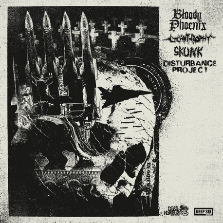 Bloody Phoenix / Lycanthrophy / Skunk / Disturbance Project - 4 Way Split - LP