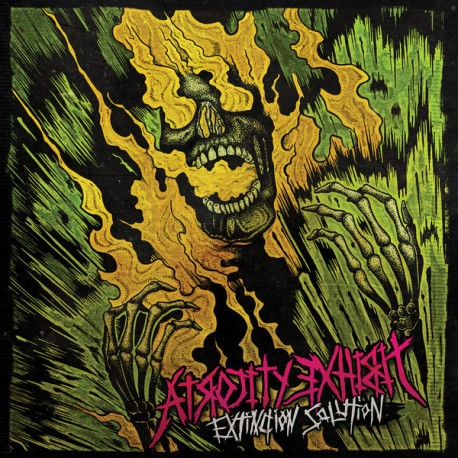 The Atrocity Exhibit ‎– Extinction Solution - LP Pink