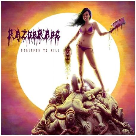 Razorrape – Stripped To Kill - CD