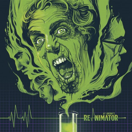 RE-ANIMATOR Original Motion Picture Score - LP