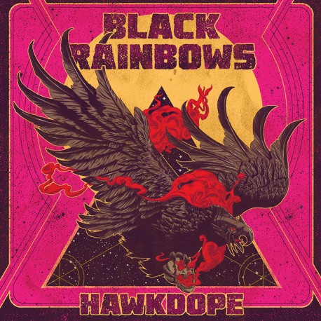 Black Rainbows ‎– Hawkdope - CD Digi