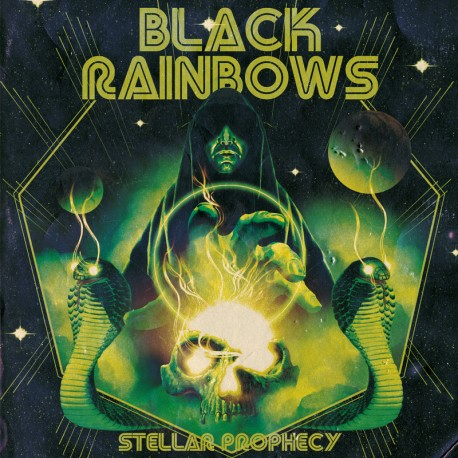 Black Rainbows ‎– Stellar Prophecy - CD Digi