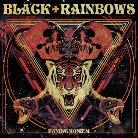 Black Rainbows ‎– Pandemonium - LP Orange Fluo
