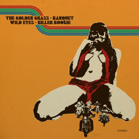 The Golden Grass, Banquet, Wild Eyes, Killer Boogie ‎– 4-Way Split Vol. 2 - 2LP