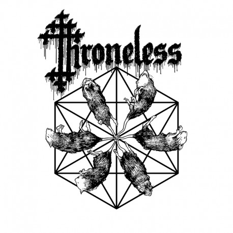 Throneless ‎– Throneless - LP