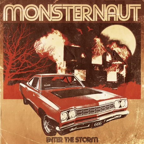Monsternaut - Enter The Storm - CD-Digi