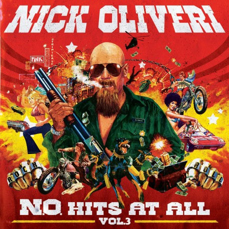Nick Oliveri - N.O. Hits At All Vol. 3 - CD-Digi