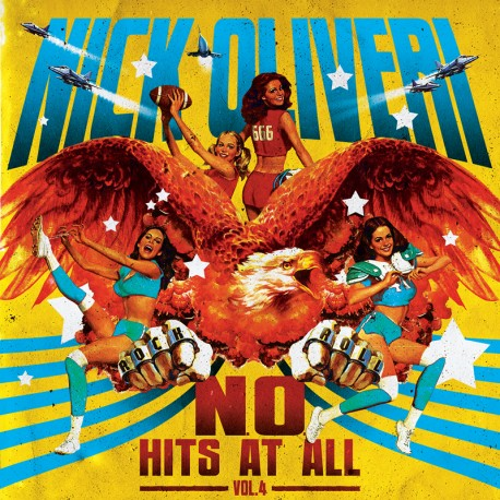 Nick Oliveri ‎- N.O. Hits At All Vol. 4 - CD-Digi