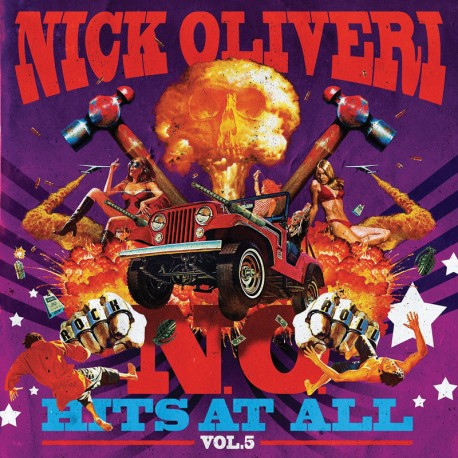 Nick Oliveri ‎- N.O. Hits At All Vol. 5 - CD-Digi