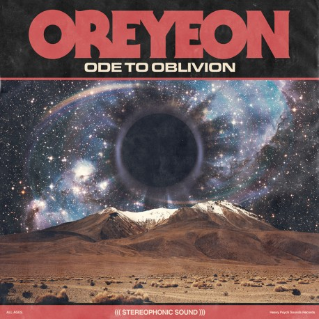 Oreyeon - Ode To Oblivion - CD-Digi