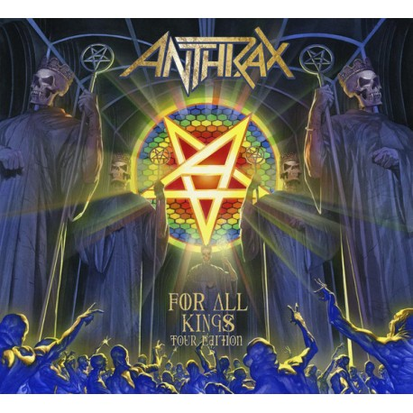 Anthrax ‎– For All Kings - 2CD-Digi