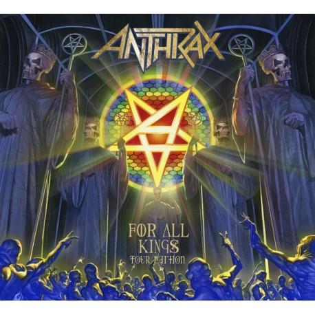 Anthrax – For All Kings - 2CD-Digi