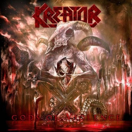 Kreator – Gods Of Violence - CD