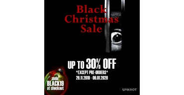 CHRISTMAS GOES BLACK