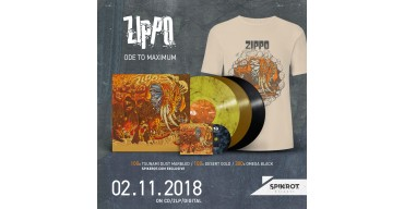Zippo - Ode To Maximum - Preorder Launch